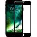 Защитное стекло iPhone 7 2.5D с черной рамкой