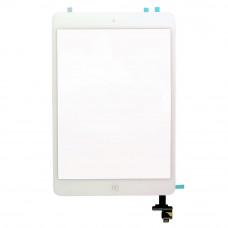 Тачскрин iPad Mini 1/2 в сборе (коннектор, кнопка Home) белый