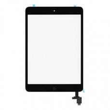 Тачскрин iPad Mini 1/2 в сборе (коннектор, кнопка Home) черный