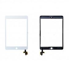 Тачскрин iPad Mini 3 в сборе с коннектором белый