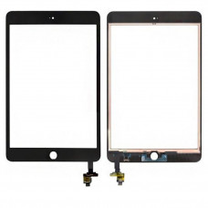 Тачскрин iPad Mini 3 в сборе с коннектором черный