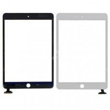 Тачскрин iPad 2 в сборе (скотч, кнопка Home) белый
