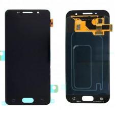 Дисплей Samsung A7 2017 (SM-A720F) OLED черный