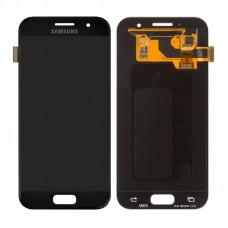 Дисплей Samsung A3 2017 (SM-A320F) ORIG черный