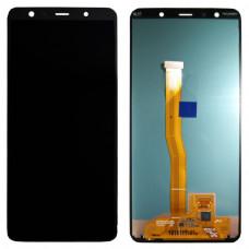 Дисплей Samsung A7 2018 (SM-A750F) ORIG черный