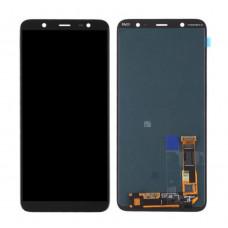 Дисплей Samsung A6 Plus 2018 (SM-A605F) ORIG черный