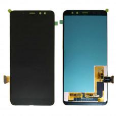 Дисплей Samsung A8 2018 (SM-A530F) ORIG черный
