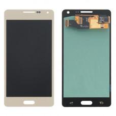 Дисплей Samsung A5 2015 (SM-A500F) OLED золотой