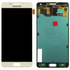 Дисплей Samsung A7 2015 (SM-A700F) ORIG золотой