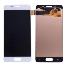Дисплей Samsung A3 2016 (SM-A310F) OLED белый