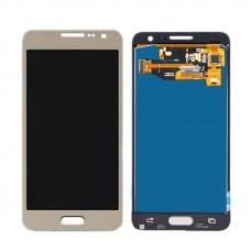 Дисплей Samsung A3 2015 (SM-A300F) ORIG золотой