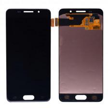 Дисплей Samsung A3 2016 (SM-A310F) OLED черный