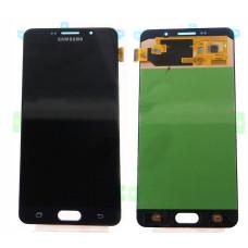 Дисплей Samsung A7 2016 (SM-A710F) OLED черный
