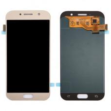 Дисплей Samsung A5 2017 (SM-A520F) ORIG золотой