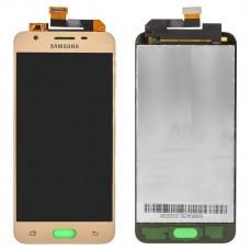 Дисплей Samsung J5 Prime 2016 (SM-G570F) OLED золотой
