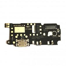 Нижняя плата Xiaomi Mi 4S с разъемом зарядки и микрофоном
