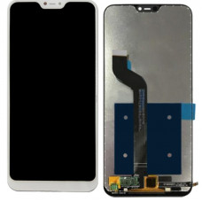 Дисплей Xiaomi Mi A2/Mi 6X белый (экран с тачскрином)