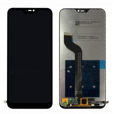 Дисплей Xiaomi Mi A2/Mi 6X черный (экран с тачскрином)