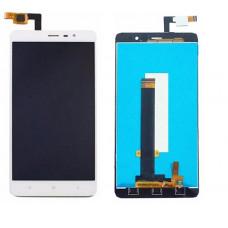 Дисплей Xiaomi Redmi Note 3 Pro белый (модуль в сборе с тачскрином)