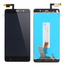 Дисплей Xiaomi Redmi Note 3 Pro черный (модуль в сборе с тачскрином)