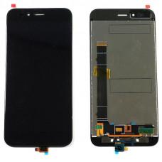 Дисплей Xiaomi Mi A1/Mi 5X черный (экран с тачскрином)
