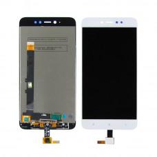 Дисплей Xiaomi Redmi 5A белый (экран с тачскрином)