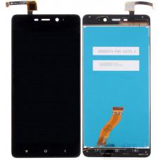 Дисплей Xiaomi Redmi 4 Pro черный (модуль в сборе с тачскрином)