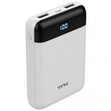 Внешний аккумулятор TFN Mini LCD PB-215 10000 мАч