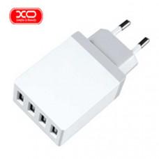 Сетевое зарядное устройство 4xUSB XO-L9