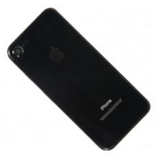 Корпус iPhone 7 Jet Black глянцевый (черный)