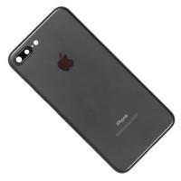 Корпус iPhone 7 Plus черный матовый (Black)