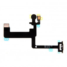 Шлейф боковой iPhone 6 Plus + кнопка включения + микрофон + вспышка