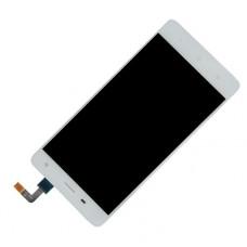 Дисплей Xiaomi Mi 4 белый (модуль в сборе с тачскрином)
