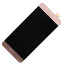Дисплей Xiaomi Mi 5S Золотой (Модуль в сборе с тачскрином)
