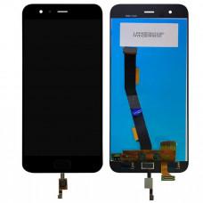 Дисплей Xiaomi Mi 6 черный (модуль в сборе с тачскрином)
