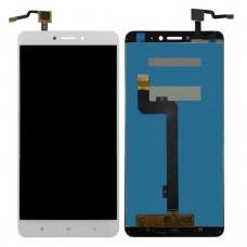 Дисплей Xiaomi Mi Max2 белый (модуль в сборе с тачскрином)