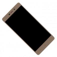 Дисплей Xiaomi Redmi 3/3S/3X/3 PRO Золотой (Модуль в сборе с тачскрином)